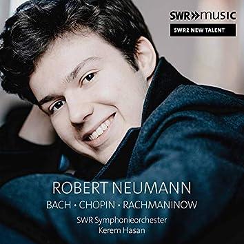 C.P.E. Bach, Chopin & Rachmaninoff: Works (Live)