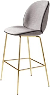 fantasticlife06 Bar Stools Home Classic Bar Chair Solid Bar Stools Cafe Chair for Home Kitchen Restaurant,G1
