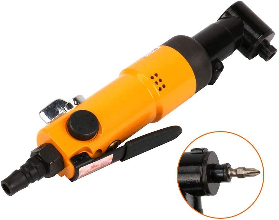 Pneumatic 90 Degree Max 47% OFF Right Angle San Francisco Mall Air Type Screwdriver Reversible