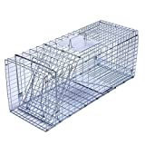 Trapro XL Collapsible Humane Live Animal Cage Trap for Raccoon, Opossum, Stray Cat, Rabbit,...