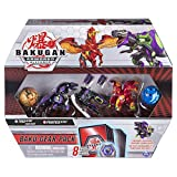 Bakugan Baku-Gear 4-Pack, Trox Ultra with Baku-Gear and Pegatrix Ultra, Collectible Action Figures