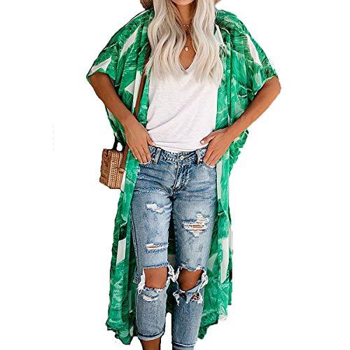 Women Floral Chiffon Cardigans Now $14.44