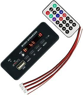 VICASKY Conjunto Amplificador de Rádio Remoto 1 Display Digital MP3 MP3 Player Módulo Decodificador Bordo