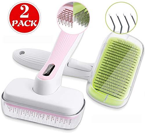 YLONG Self Cleaning Slicker Brush