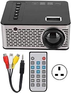 ZLSANVD Mini Projector Mini Projector Portable Projector 1920X1080 600 Lumens Home Cinema Theater Media Player Supports US...