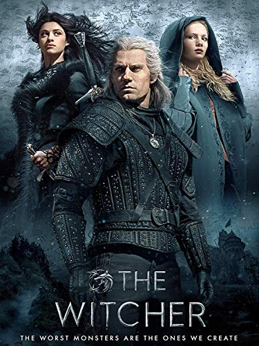 The Witcher TV Show Poster 18 by 24 Inches - Common Poster Size for Easy Framing