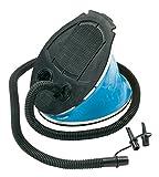 Bo-Camp - Pompe à pied , Noir/Bleu, 5 L