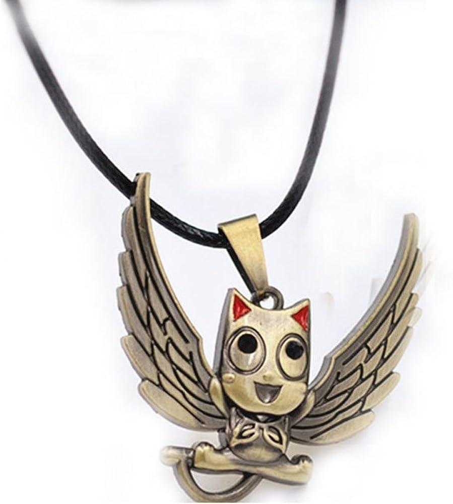 Generic Fairy Tail Happy Logo Bronze Alloy Necklace 3.84cm Pendant