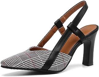 BalaMasa Womens ASL06530 Pu Heels