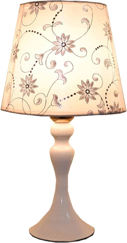 X&YY Nachttisch-Schlafzimmer-Lampen-europisches warmes Licht-Nachtlicht LED, das energiesparende moderne einfache Dekoration einzieht (Farbe   B)