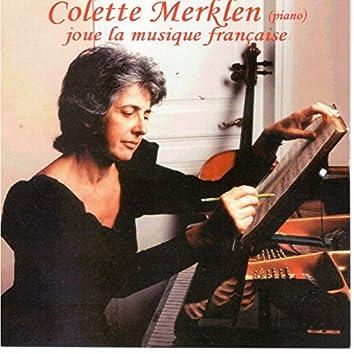 Colette Merklen joue la musique française