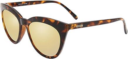 680e55ccd3f JOJEN Polarized Sunglasses for Women s Cat Eye Retro Ultra Light Lens TR90  Frame JE003