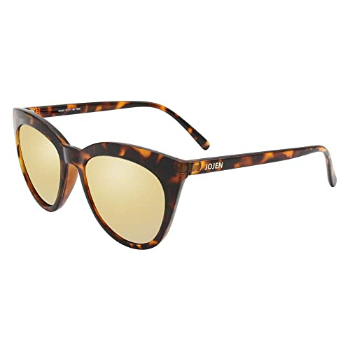 5dcb6480c5 JOJEN Polarized Sunglasses for Women s Cat Eye Retro Ultra Light Lens TR90  Frame JE003