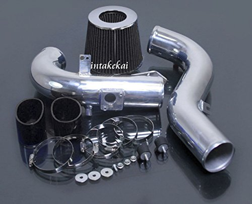 Cold Air Intake Kit Systems + FILTER Fit 2011 2012 2013 2014 2015 Scion Tc 2.5 2.5l Engine (BLACK)