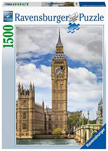 Ravensburger Puzzle 16009 - Findus am Big Ben - 1500 Teile Puzzle für Erwachsene und Kinder ab 14 Jahren, Puzzle mit Katzen-Motiv