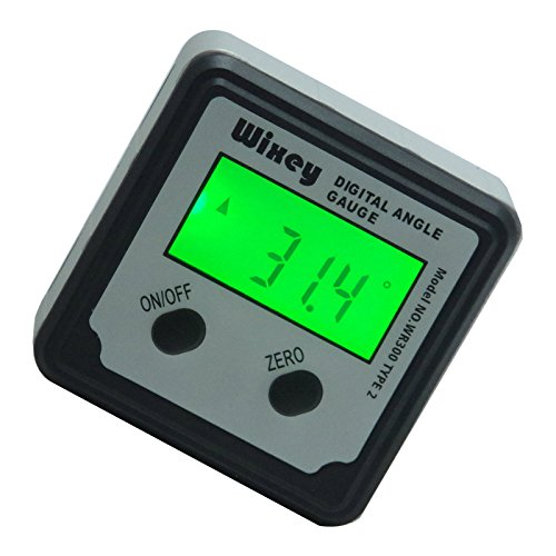 Wixey Digital Angle Gauge Type 2 with Magnetic Base and