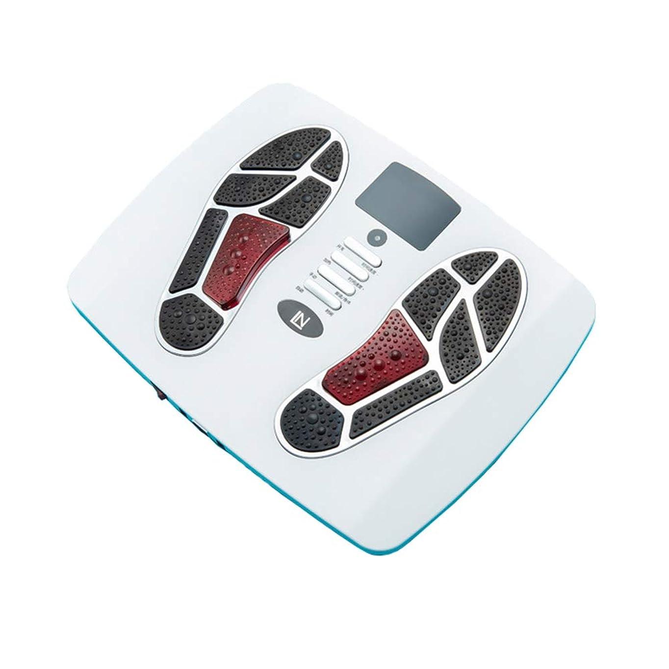 バーガーオークションしばしば多機能 フットマッサージャー指圧なだらかなフットマッサージャーで、血液循環を改善し、痛みや痛みを和らげることができます インテリジェント, white