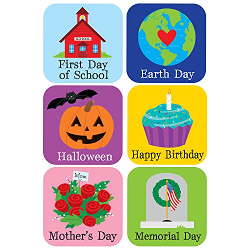 Creative Teaching Press Holidays and Special Events Academic Calendar Cover-Ups (35 Special Events and Holidays) (6149)