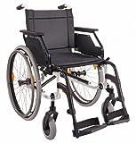 DIETZ Leichtgewicht-Faltrollstuhl CANEO E ohne Trommelbremse Sitzbreite 45 cm -