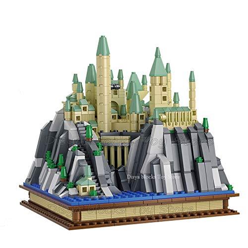 Rawikan Magic World City Hall - Conjunto de bloques de construcción para niños (compatibles con Lego)