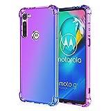 Dedux Cover per Motorola Moto G8 Power, Custodia Trasparente Gradiente Protettivo TPU Case,...