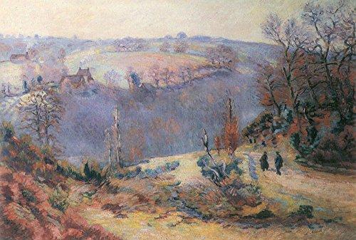 Het Museum Outlet - Weg naar de Molen van Bouchardon, 1902-11 - Canvas Print Online kopen (30 X 40 Inch)
