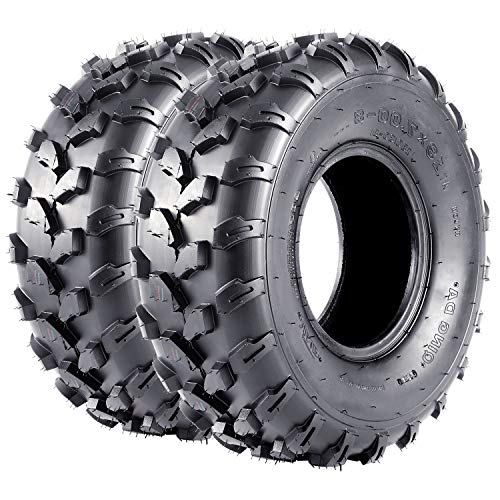 VANACC 19x7-8 ATV Tires ATV Mini Bike 19x7x8 19 7 8 Sport ATV Tires 4PR Set of 2