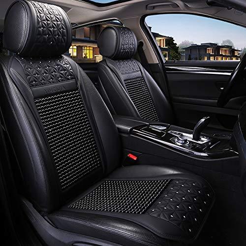 Xljh Autostoel slip resistente ademende comfort massage koeling zomer stoelhoes geschikt voor auto bestuurder bureaustoel 1 stks
