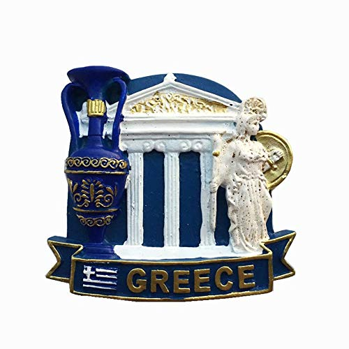 Weekino Atenas, Grecia Imán de Nevera 3D Resina de la Ciudad de Viaje Recuerdo Colección de Regalo Fuerte Etiqueta Engomada refrigerador