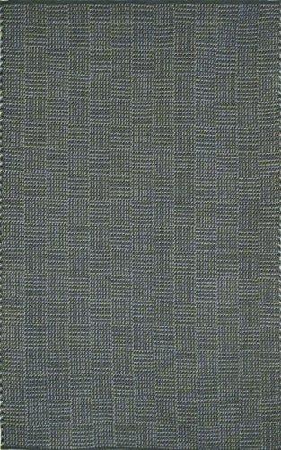Trans Ocean Chesapeake Charcoal Tweed Indoor/Outdoor Area Rug Rug Size: 7'6