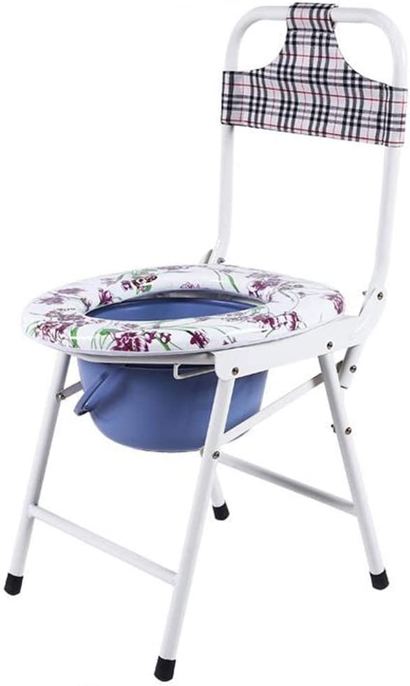 CHLDDHC Mobile Houston Mall Toilet Folding High Pregnant Strap NEW before selling Women Bucket P
