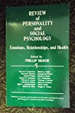Emotions, Relationships, And Health (The Review of Personality and Social Psychology, Band 5)
