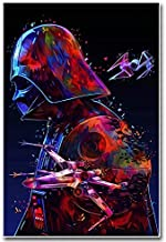 Star Wars Full Drill Diamond Painting by Number Kits, 5D DIY Diamond Embroidery Crystal Rhinestone Cross Stitch Handmade Mosaic Paintings Arts Craft for Home Wall Decor(12X16inch/30X40CM)