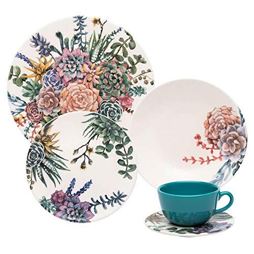 Aparelho de Jantar e Chá 30 peças Unni Bothanica