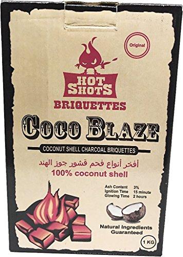 Coco Blaze briquetas de carbón vegetal...