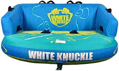 White Knuckle Rewind 3 Inflatable 3 Seater Boat Towable Chariot Water Inner Tube
