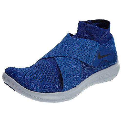 Nike Free RN Motion FK 2017, Scarpe da Trail Running Uomo, Blu (Binary Blue/Black/Obsidian/Gym Blue 401), 45 EU