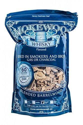 Smokewood whisky devanshishi chips (motif rough cut)