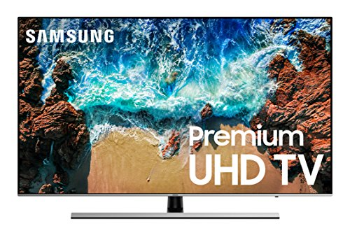 "Samsung UN65NU8000FXZA Flat 65"" 4K UHD 8 Series Smart LED TV (2019)"