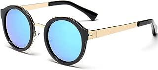 sun glasses UV Protect round color film sunglasses