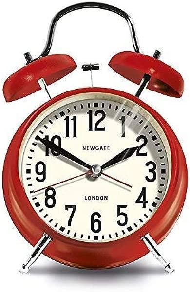Newgate London Alarm Clock Red
