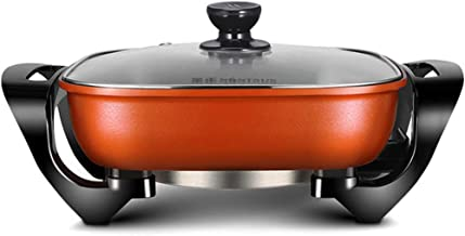 ludonie Household electric hot pot 5L large capacity electric skillet multi-function electric cooker