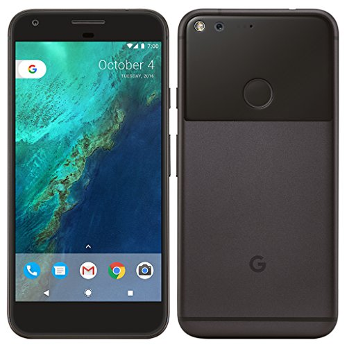 Google Pixel Smartphone (12,7cm (5 Zoll) AMOLED, kapazitiver Touchscreen, 128GB, Android) Ziemlich schwarz)