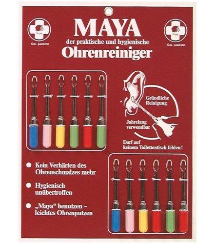 Maya oorreiniger 12 kaarten