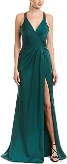 Faviana Womens Satin Prom Evening Dress