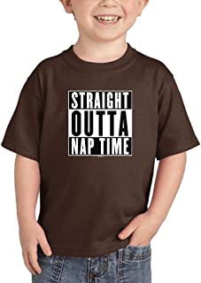 Haase Unlimited Straight Outta Nap Time - Hip Hop Parody Infant/Toddler Cotton Jersey T-Shirt