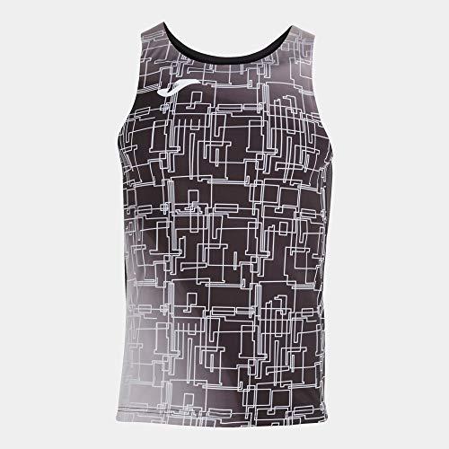Joma Camiseta Tirantes Elite VIII Negro, M