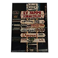 FASHION POSTER(ファッションポスター) A4(約21cm×30cm) ポスター(マット) ポスターのみ 街 風景 英語 モダン 海外 男前 インダストリアル レスト(fg-poster-490-a4A4matt)
