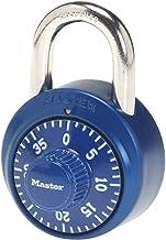Master Lock 1530DCM Locker Lock Combination Padlock, 1 Pack, Assorted Colors