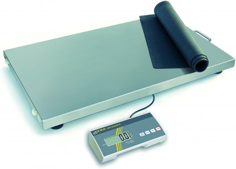 Kern & Sohn wipb300s Serie EOB Zahlungsbilanz Plattform, 900 mm Länge x 550 mm Breite x 60 mm Höhe, 300 kg Bereich-Wägezelle Skala, 100 g B007L28FCK | Glücklicher Startpunkt